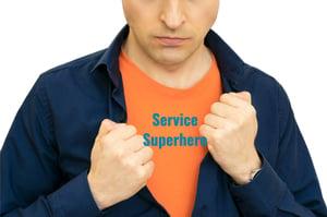 service super heroes